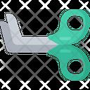 Medical Scissors Equipment Health Care Icon