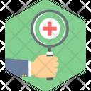 Medical Searcg Health Icon