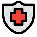 Medical Shield Protection Shield Icon