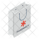 Medical Shopping Shopping Bag Pharmacy Shopping Icon