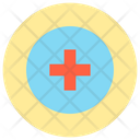 Red Cross Medical Sign Sign Icon