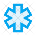 Star Of Life Emergency Medical Care Icon