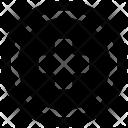 Circular Add Sign Icon