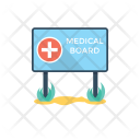Sign Board Pharmacy Icon
