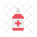 Medical Spray Spray Hand Sanitizer Icon