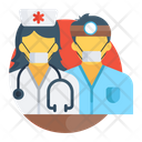 Medical Staff Doctor Nurse Icon