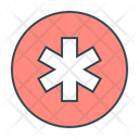 Medical Star Star Of Life Healthcare Icon
