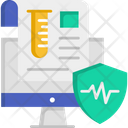 Medical System Online Medical Computer Icon