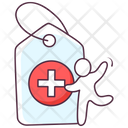 Medical Tag Icon