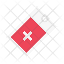 Tag Label Hospital Icon