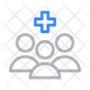 Patient Healthcare Staff Icon