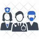 Doctor Healthcare Team Icon