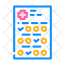 Medical Questionnaire Color Icon