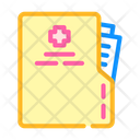 Medical Card Color Icon