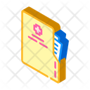 Medical Card Isometric Icon