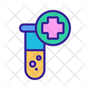 Medical Test Tube Icon