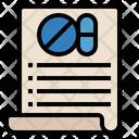 Medical Transcription Icon