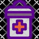 Medical Trash Icon