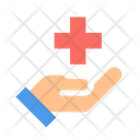 Color Give Hand Icon