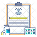 Health Report Medical Report Patient Report Icon