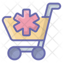 Medical Supplies Medical Trolley Medical Cart Icon