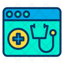 Medical Web Page Hospital Website Web Icon