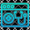 Medical Web Page Hospital Website Web Icon