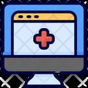 Website Healthy Website Medical Icon