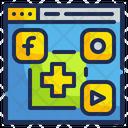 Medical Website Social Media Medical Icon
