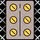 Medication Capsule Icon