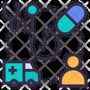Health Center Medication Icon