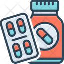 Medication Pills Medication Medicines Icon