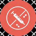 Medicine Pill Injection Icon