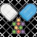 Medicines Pills Capsules Icon