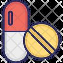 Capsule Drugs Medical Pills Icon