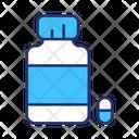 Medicine Tablet Medicine Bottle Icon