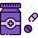 Medicine Medicine Bottle Pills Icon