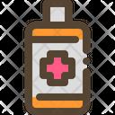Medicine Bottle Health Icon