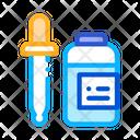 Medicine Dropper Supplements Icon