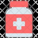 Medicine Bottle Pharmacy Icon