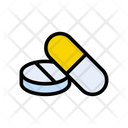 Medicine Capsule Drugs Icon