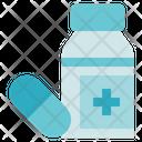 Medical Service Medicine Bottle Icon