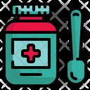 Medicine Drug Bottle Icon