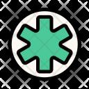 Medical Cross Medicine Icon