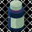 Liquid Medicine Isometric Icon