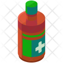Medicine Bottle Syrup Icon