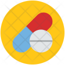 Capsule Drug Medications Icon