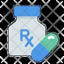 Color Drugs Healthcare Icon