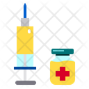 Medicine And Injection Icon