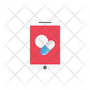 Mobile Medical Healthcare Icon